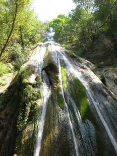 Nojoqui Falls in the Santa Ynez Valley.  Terrific small hike to the falls for the whole family.