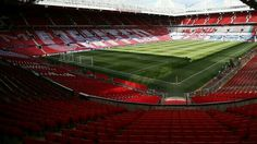 Old Trafford all ready for the match #mufc