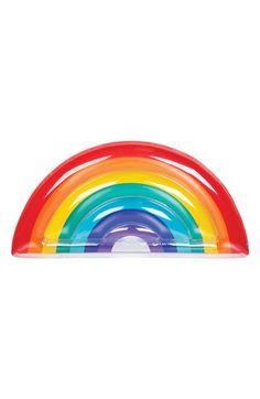 Main Image - Sunnylife Inflatable Rainbow Pool Float