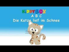 ABC die Katze lief im Schnee - Kinderlieder zum Mitsingen - (KIDDYBOX.TV) Karaoke Lyric Songtext