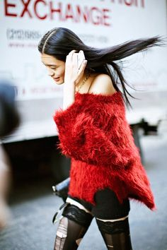 #MingXi looking well cool #offduty in NYC.