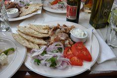 Gyros Plate, Athens