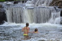 Smith River Falls recreation site is one of the best summer river swimming holes in Oregon