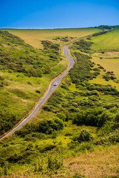 Rural Back Road in Devon