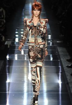 David Bowie's daring style has inspired scores of designers in men's wear and women's wear.