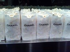 Sex in the city party-- Print coco Chanel on paper bags