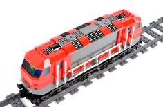 Heavy Haul Locomotive Train Front Engine Car   Power Functions LEGO City 60098 #LEGO