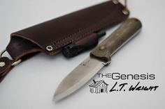 Black Scout Survival: L.T. Wright Genesis Knife Review