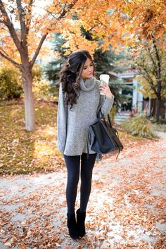 16 Thanksgiving Outfit Ideas For Fall OR Winter Weather + Louis Vuitton Wallet Giveaway!