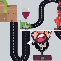 """Perugia, 8 aprile 2017. Promuovere, con una App per telefoni multimediali, il turismo """"fuori rotta"""" per valorizzare, dalle strade principali, itinerari e beni culturali """"minori"""" in Umbria."""