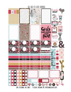 Free Printable Love Sampler for the Carpe Diem Reset Girl Inserts from myplannerenvy.com