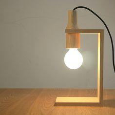 wooden lamps - Google Search Más