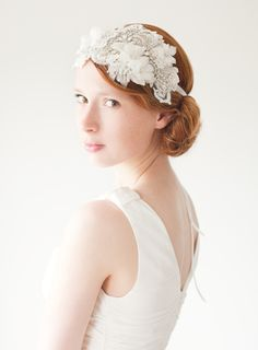 Bridal Hair piece – Heart Whispers