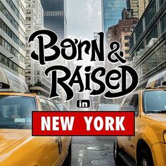 'Born & Raised in New York' by mistergoodiez Framed Prints, Canvas Prints, New York S, Raising, Classic T Shirts, Gift Ideas, Shop, Photo Canvas Prints, Store