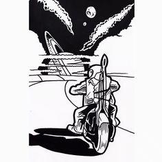 Mercenary Garage: Space-Chopper  #SpaceChopper #MuchoMoto #Mercenary #MercenaryGarage