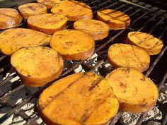 Grilled Cinnamon Sweet Potatoes Recipe