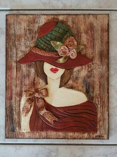 Clay Wall Art, Clay Art, Intarsia Wood Patterns, Intarsia Woodworking, Mural Art, Whimsical Art, Clay Creations, Clay Crafts, Rock Art