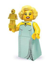 LEGO 71000 - Minifigur Hollywood-Star aus Sammelfiguren-Serie 9 --> Ab morgen, spätestens übermorgen in meiner Sammlung.