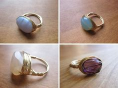 Rings by Etsy Artist Alison Selin
