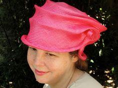 Parasisal Straw Hats New Hand Blocked1920's by KartisimDesign, $115.00
