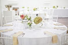 Plain white tablecloth. www.tableclothhiring.co.za