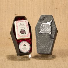 Boxed Coffin Gift Set by Three Sisters Apothecary