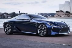 Lexus LF-LC Concept gets the Blues for the 2012 Sydney Auto Show - Carscoop