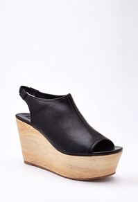 Faux Leather Slingback Wedges from Forever 21 $29,90