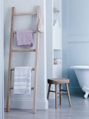 Talbot Raw Oak Towel Ladder