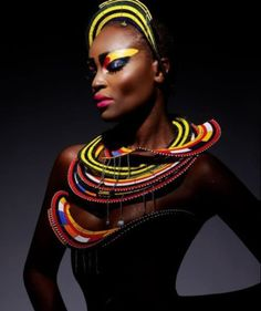 African Queen. The use of light and color is amazing