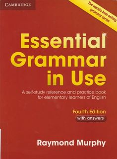 Essential Grammar in Use. English Edition with answers and CD-ROM: A self-study reference and practice book for elementary students of English