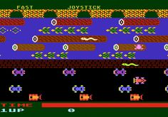 Parker Brothers Frogger for Atari 5200 screenshot Classic Retro Gaming Video Game Review