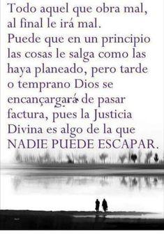 Pues la justicia divina es algo que nadien puede escapar..!! 👉( ˘💣💥˘ )👈