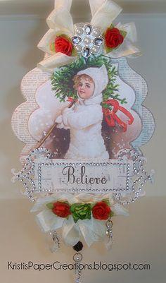 #Spellbinders/Ornament inspired by Linda Duke