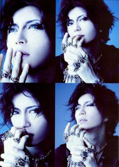 Gackt ~ again...  *sigh* How can a man be so incredibly pretty? I don't understand. I'm totally okay with it, but I don't understand...