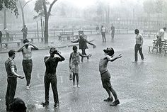 Life in gardens/enclos*ure: Tompkins Square Park, 1967, by james Jowers, via George Eastman House