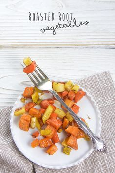 These tender Roasted Root Vegetables are so good that will turn any member of your family into a root veggie lover! Man, having kids really messes you up! My pregnancy with Parker was a classbook example of the worst case of morning sickness you could ask for! Calling it morning sickne