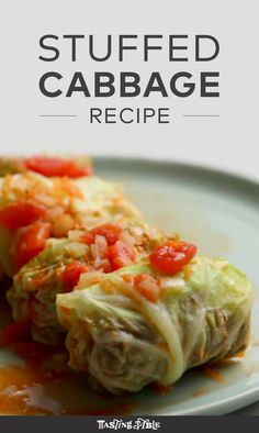 Holubtsi (Ukrainian-Style Stuffed Cabbage Recipe