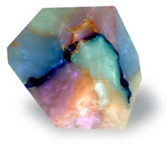 Real(Mislabeled) - This is not an Opal or any type of Gem. This is Soap..... - Soapal™ SoapRocks® - soap rocks that look like opals..