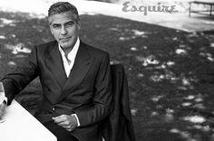 George Clooney in ESQUIRE