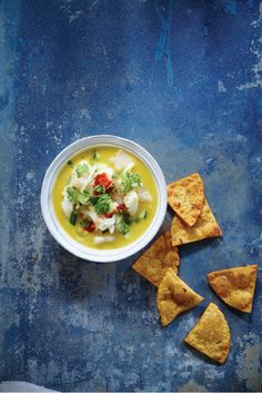 Easy Halibut Ceviche from 'Pure Food'