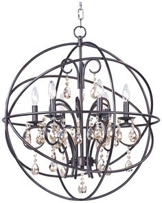 the most amazing light fixture. ever. industrial looking globe ...