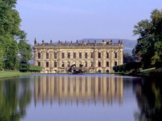 Film location: PEMBERLEY    Chatsworth House, the largest private house in England, the home of Deborah, Duchess of Devonshire, was used as the exterior of Pemberley, the Darcy family estate. Jane Austen mentions Chatsworth in the book, and the Duchess believes that the writer was thinking of Chatsworth when describing Pemberley.
