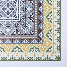 Mediterranean Vinyl Kitchen Mats on Food52  | Laundry Room Floor