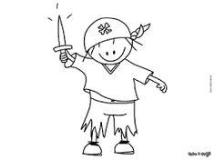 Afbeeldingsresultaat voor Tekeningen Piraten