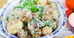 FARBROR GRÖNS RECEPT: Potatissallad med smak av Italien