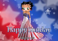 barbie b betty boop pictures with names | Betty Boop Name Pictures: Patriotic Betty Boop days of the week