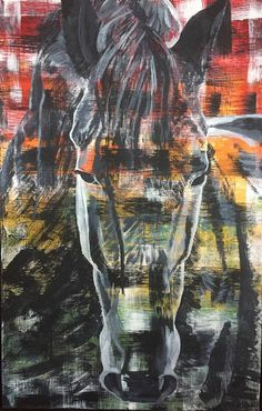 Contemporary equine fine art paintings for sale by Chanelle Zimmer in Bozeman, Montana or commission a portrait of your horse. Art Paintings For Sale, Horse Paintings, Art Original, Horses, Fine Art, Contemporary, Portrait, Studio, Creative