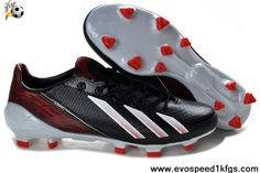 Best Gift Adidas F50 adizero TRX FG Black Red White Shoes Shop