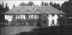 The country house in Gardzień (currently Poland), the property of Jenny von Gustedt (born von Pappenheim) and her husband Werner. The house survived WWII, but was later abandoned and finally destroyed in the 1970s.